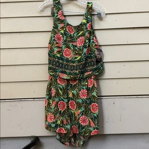 NEW Romper in Tropical Print - Juniors Size XL